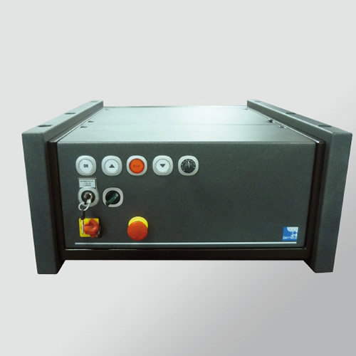 MEGASCREEN Control system and motor