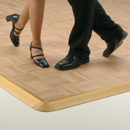 Pedane da ballo portatili in legno