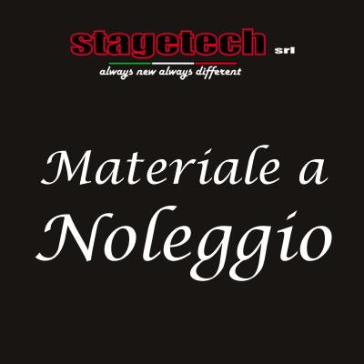 MATERIALE A NOLEGGIO