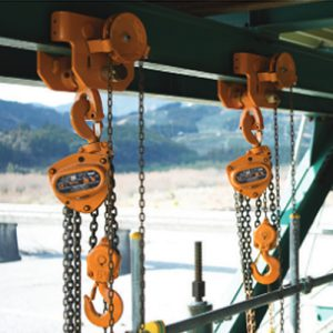 Chain hoists and Winches